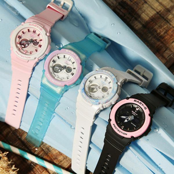 CASIO 卡西歐 Baby-G 果凍甜心手錶 BGA-270-1A / BGA-270-1ADR