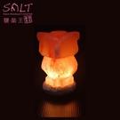 鹽燈專家【鹽晶王】療癒系商品‧USB貓頭鷹造型鹽燈,可擺放辦公桌,電腦旁,讓您財富福運滿滿