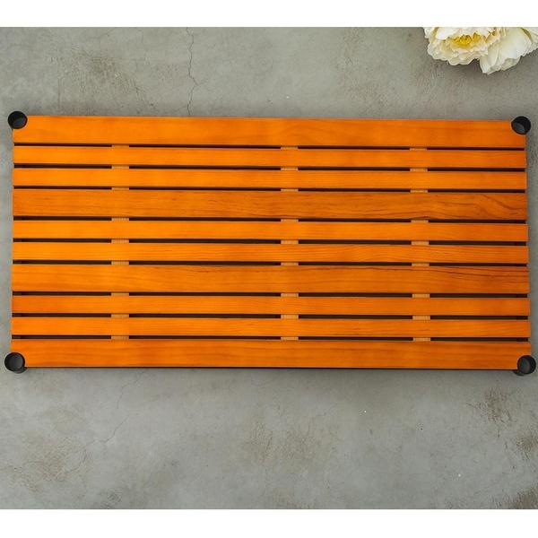 層板/置物架/收納架【配件類】90x45cm 松木烤漆黑層板 _柚木色(含夾片) dayneeds