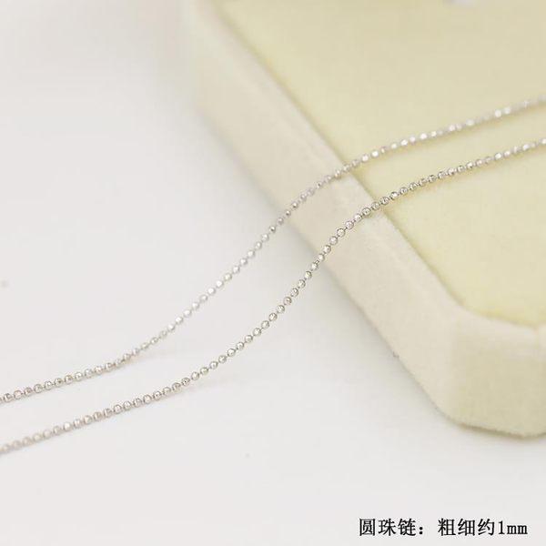 項練 s925銀項鍊女純銀鍊子鎖骨鍊日韓版學生簡約項圈百搭配飾品韓國時尚週