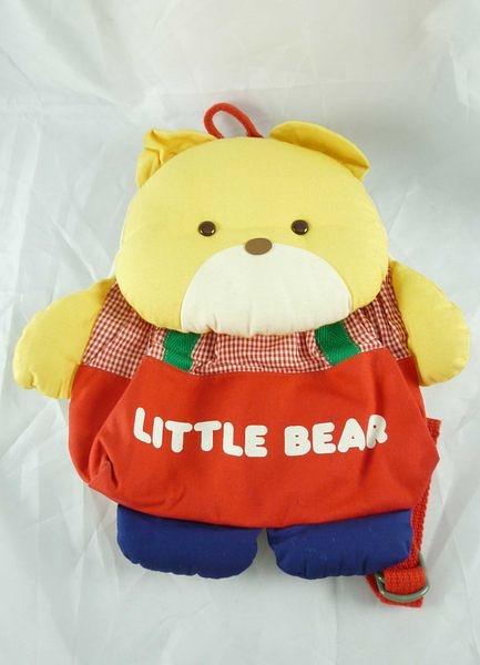 【震撼精品百貨】日本泰迪熊 _LITTLE BEAR~ 造型背包『紅衣』