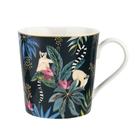 英國Sara Miller 大溪地Tahiti系列340ml馬克杯-狐猴(附原廠禮盒)