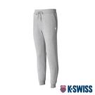 K-SWISS Shield Logo Sweat pants運動長褲-男-淺灰