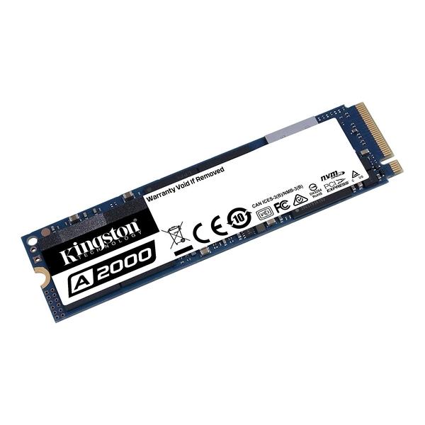 Kingston 金士頓 A2000 1TB M.2 PCIe SSD固態硬碟 五年保