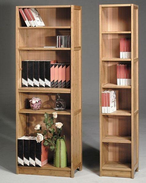 [ 家事達] TMT 維多利雅 高級碳化竹 六層書櫃 TART-530 特價~