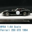 現貨 MY64 SCM 1/64 法拉利 Ferrari 250 GTO 1964 黑 MY6401O