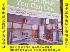 二手書博民逛書店Kitchen罕見Ideas You Can Use: Insp