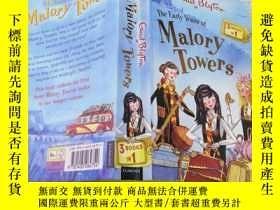 二手書博民逛書店the罕見early years at malory towers馬洛裏塔的早年生活Y212829