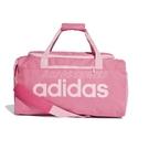 adidas 手提包 Linear Core Duffel Bag 粉紅 白 男女款 運動休閒 【PUMP306】 DT8624