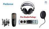 【音響世界】PreSonus Studio 2/6高取樣錄音介面音效卡》高階錄音室五件式完美組合
