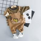 嬰幼兒童裝洋氣背帶褲兩件組