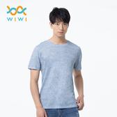 【WIWI】素面防曬排汗涼感衣(麻花灰 男M-3XL)