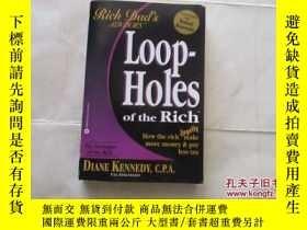 二手書博民逛書店loop-holes罕見of the rich【726】RICH