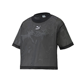 PUMA 女流行系列Classics短袖T恤(休閒上衣 網眼 歐規 慢跑≡體院≡ 598616