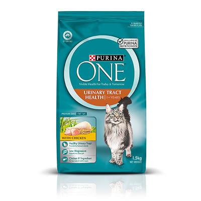 【寵物王國】普瑞納-ONE CAT 頂級貓乾糧(成貓化毛雞肉配方)1.5kg