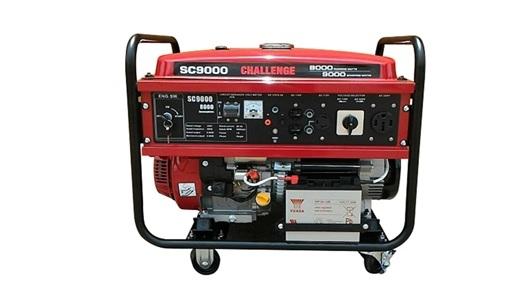 [ 家事達 ] Senci-SC9000 四行程 電動發電機 9000w-110v/220V 特價