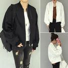 外套 正韓  棒球服夾克飛行員 長袖 開衫薄款