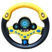 兒童方向盤玩具寶寶早教益智仿真方向盤模擬駕駛方向盤zg【七夕全館88折】