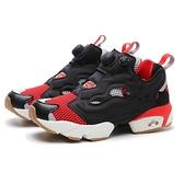 REEBOK 休閒鞋 INSTAPUMP FURY OG 黑灰紅 網布 經典 襪套 復古 男女(布魯克林) FV1571