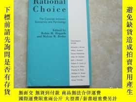 二手書博民逛書店rational罕見choice the contrast between economics and psych