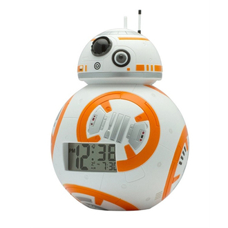 夜燈鬧鐘 星際大戰 BB-8(7.5INCH)(KK-2020503)