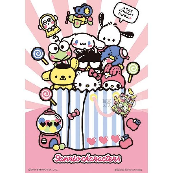 【台製拼圖】HP0108-196 Sanrio characters - 娃娃購物袋 108片拼圖