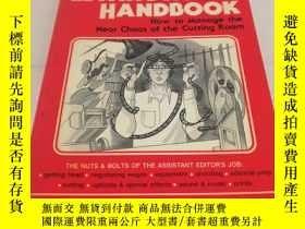 二手書博民逛書店the罕見film editing room handbookY15809