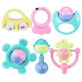 手搖鈴嬰兒玩具0-3-6-12個月兒童寶寶幼兒男女孩益智牙膠1歲新生【全館免運可批發】