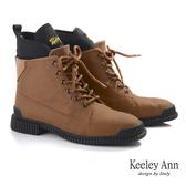 ★2019秋冬★Keeley Ann極簡魅力 英倫牛磨砂輕量登山靴(棕色) -Ann系列
