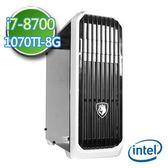 技嘉Z370平台【靈幻刺客】Intel第八代i7六核 GTX1070TI-8G獨顯 2TB燒錄電腦