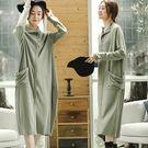 洋裝-不規則針織長裙/設計家 Q8916