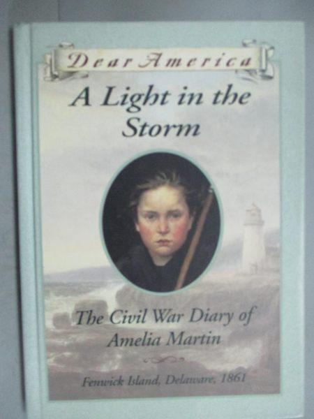 【書寶二手書T2/原文小說_GJN】A Light in the Storm: The Civil War Diary