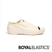 ROYAL ELASTICS London 米白色英倫風帆布休閒鞋 (女) 93582-005