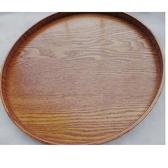 木托盤圓盤果盤木托盤可愛圓形盤
