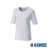 K-SWISS Short Sleeve T-Shirts印花短袖T恤-女-白