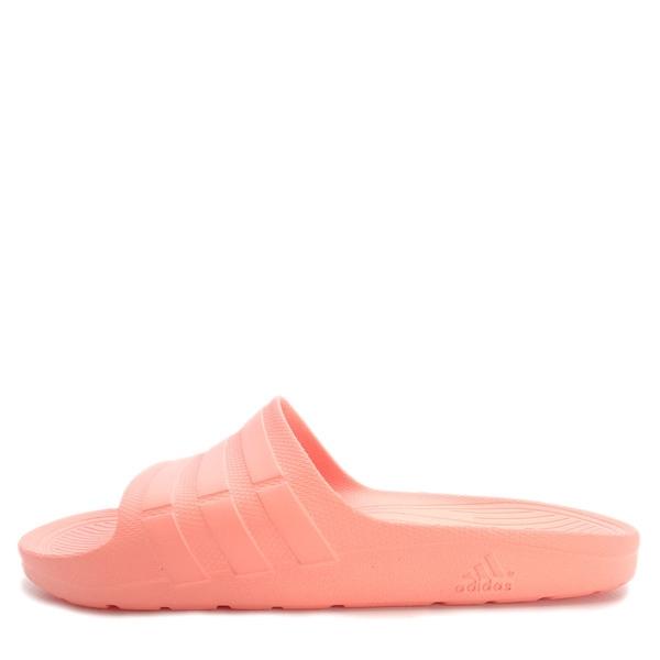 Adidas Duramo Slide [CG2795] 女 運動 涼鞋 拖鞋 休閒 舒適 輕量 粉橘 愛迪達