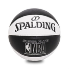 Spalding 籃球 NBA Super Flite 白 黑 7號球 室內外 運動休閒 【ACS】 SPA76351