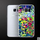 ♥ 俏魔女美人館 ♥Samsung Galaxy S7 Edge {彩色油畫*輕立體浮雕硬殼} 手機殼 手機套 保護殼