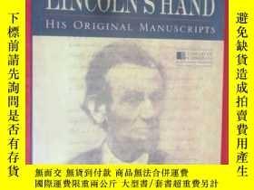 二手書博民逛書店IN罕見LINCOLN S HAND (硬精裝) 【詳見圖】Y5