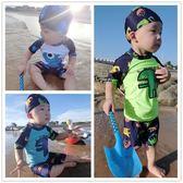 泳裝 泳衣兒童分體小童防曬速幹度假男童泳褲泳帽0-1-2歲3小寶寶4嬰兒 {優惠兩天}