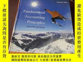 二手書博民逛書店Fundamental罕見Accounting Principl
