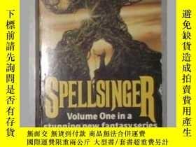 二手書博民逛書店英文原版罕見Spellsinger by ALAN DEAN F