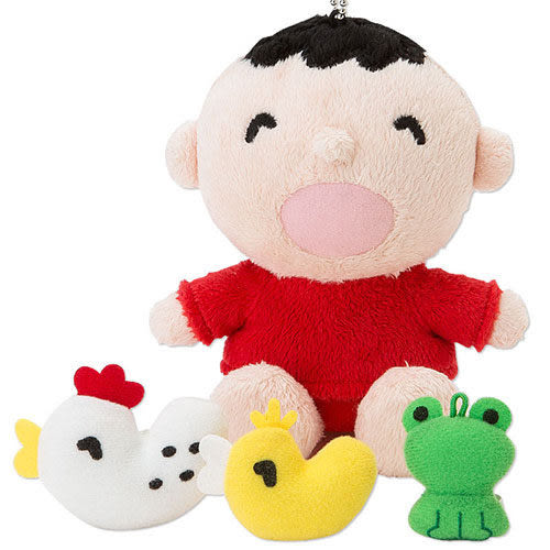 【震撼精品百貨】大寶/大口仔_Minna No Tabo ~大寶好朋友系列玩偶吊鍊附好朋友玩偶組