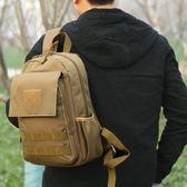 雙十二狂歡雙肩迷你登山迷彩小背包戶外野營旅行便攜包男女通用新款運動