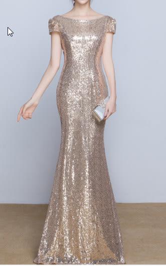(45 Design)  訂做7天到貨 韓風婚紗禮服 晚宴 顯瘦性感晚宴結婚禮服婚紗 高級訂製服56