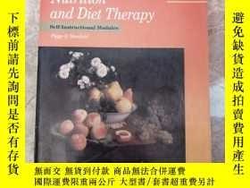 二手書博民逛書店nutrition罕見and diet 營養與飲食療法Y243439 self lnstructional m