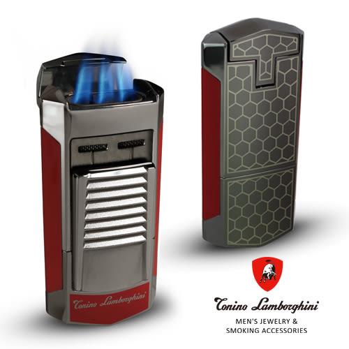 義大利 藍寶堅尼精品 - SEPANG LIGHTER 打火機(紅色) ★ Tonino Lamborghini 原廠進口 ★
