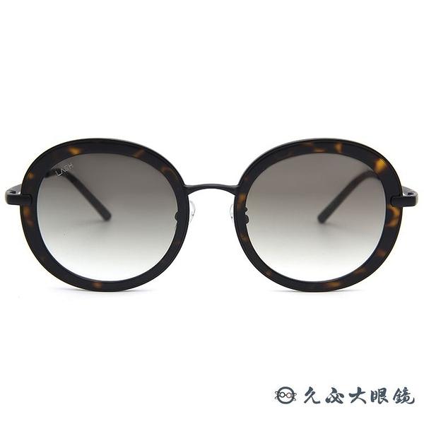 LASH 墨鏡 BELIEF BKH01 (玳瑁-霧黑) 圓框 復刻版 韓國 太陽眼鏡 久必大眼鏡