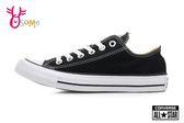 All STAR★Converse帆布鞋 成人女款 基本款低筒帆布鞋 G9820#黑白◆OSOME奧森童鞋