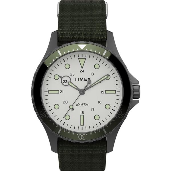 【TIMEX】天美時 復刻系列 簡約復古手錶 ( 橄欖綠 TXTW2T75500)